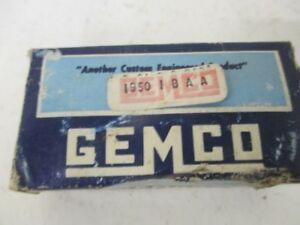 Gemco 1950 1baa Single Pole Double Throw Switch new In Box