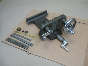 Vtg Atlas 618 Craftsman 101 Lathe Compound Cross Slide M6 9 Carriage W Handles