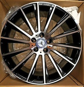 19 New Amg Oem S550 Cl63 2016 Model Mercedes Rims Wheels 1 Front Wheel S63 S65