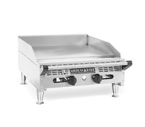 American Range Aetg 36 Comercial Countertop Griddle Gas 36 inch