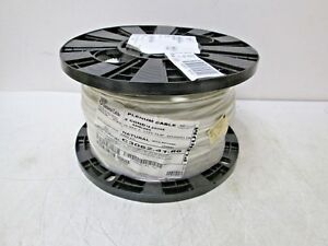 General Cable C3062 41 86 Plenum Cable 2 Cond 18 Gauge 1000 Cl3p Shielded