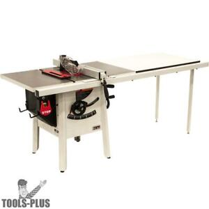 Jet 725003k Proshop Ii Table Saw 230v 52 Rip Cast Wings New