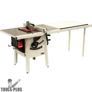 Jet 725001k Proshop Ii Table Saw 115v 52 Rip Cast Wings New