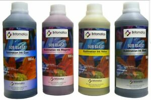 Water Base Printing Ink For Heat Transfer Fabric Cmyk Liter Epson Heads