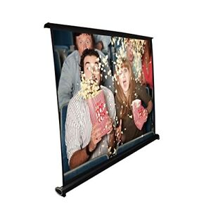 Pyle Prjtp46 40 Projector Screen Mobile Pull out Style Portable 32 X 24