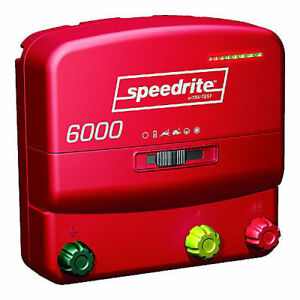 Speedrite Electric Fence Charger 6000 Unigizer New