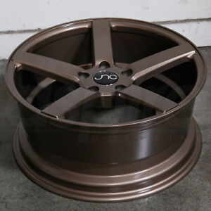 18x8 Jnc 026 Jnc026 5x114 3 35 Gloss Bronze Wheel Rims Set 4