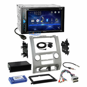 Pioneer 2018 Bluetooth Radio Silver Dash Kit Harness For 08 Ford Mercury Mazda
