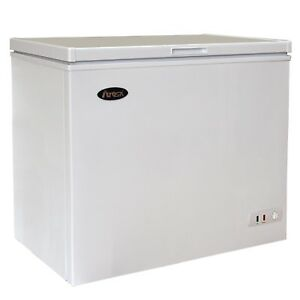 New Atosa mwf9007 Solid Top Chest Freezer 7 Cu Ft Commercial Equipment