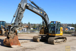 2012 Deere 225d Lc Excavator 4500hrs Cab Heat ac Hyd Thumb Qc Aux Hyd