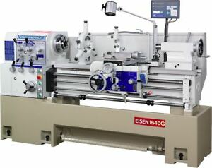 Eisen 1640g 16 x40 Precision Engine Lathe With Dro made In Taiwan