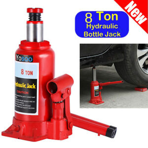 Hydraulic Jack 8ton Automotive Shop Axle Jack Hoist Lift Truck Repair Heavy Duty
