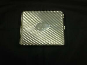 Antique Victorian Silver Purse Type Card Case London S M Co 19th Century