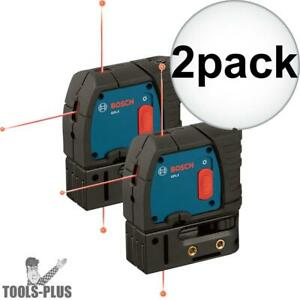 Bosch Gpl3 2x 3 point Self leveling Alignment Laser New