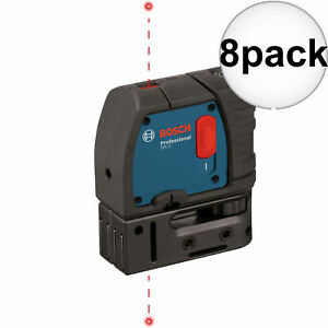 Bosch Gpl2 rt 2 point Self leveling Class Ii 635 670 Nm Laser Level 8x