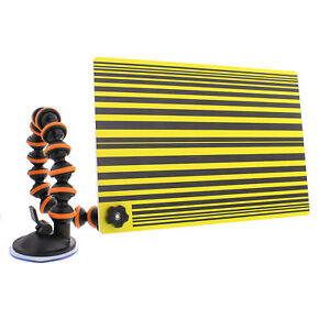 Abn Line Reflector Board With Suction Cup Arm Paintless Dent Removal Repair Pdr
