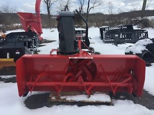 Ber vac Blizzard B74c 74in Rear Mount Snowblower