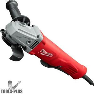 Milwaukee 6142 31s 4 1 2 Small Angle Grinder Paddle No lock On W Shroud New