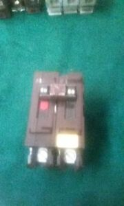 Wadsworth Circuit Breaker 60a 2 Pole Type A plastic Tabs