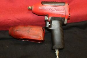 Snap on Tools 3 8 Drive Air Impact Wrench Mg325 W protective Cover