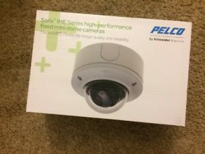 New Pelco Ime219 1s Sarix Enhanced Surface Mount Minidome 2mp Poe Ip Camera