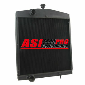 5 Rows Tractor Radiator For Case Cs 2390 2394 2590 2594 3294 3394 3594 A184365