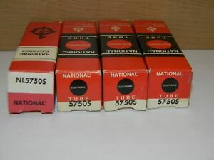 National Electronics Nl5750s Nixie Tubes Nos Lot Of 4