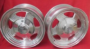 Ultra Wheel 14x6 4 On 4 1 4 4 1 2 Bolt Pattern New Old Stock 1 Pair
