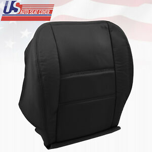 2001 2002 Driver Bottom Leather Perforated Seat Cover Fits Nissan Pathfinder Blk