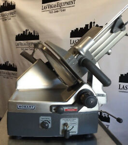 Hobart 2912 12 Automatic 6 speed 12 Inch Meat Cheese Deli Slicer Very Smooth