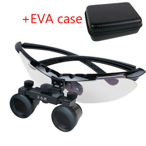 Dental Dentist Surgical Medical Binocular Loupes 2 5x Adjustable Superior View