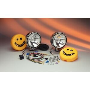 Kc Hilites Daylighter Lng Rng Chrome 100w Driving Light System Pair 237