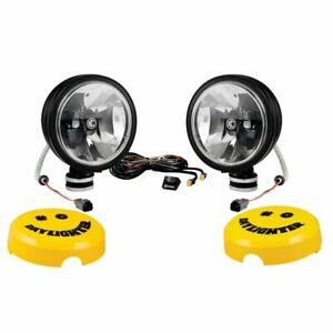 Kc Hilites 653 Daylighter gravity Led G6 Driving Beam Sys Sae ece Black 20w pair
