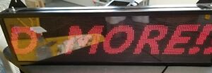 26 x 8 Programmable Scrolling Message Led Display Sign Led Panel Indoor Board