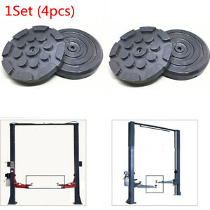 4pc Car Lifts Lift Arm Circular Gasket Rubber Weld Frame Rubber Wear Resistant