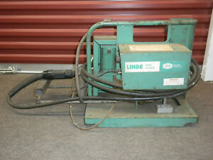 Linde Mig 31 Welding Wire Feeder Union Carbide With Tweco Torch Gun