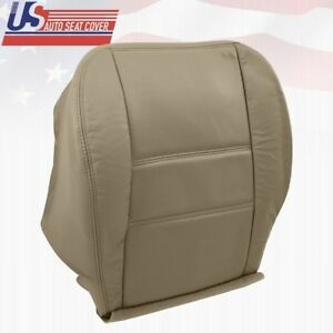 2001 2002 Driver Bottom Leather Perforated Seat Cover Fits Nissan Pathfinder Tan