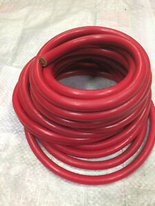 4 0 Awg 50 Ft Marine automotive Battery Cable Wire Red Copper Wire Solar Leads