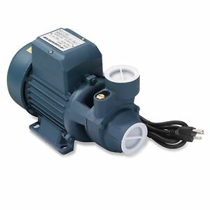 Clear Water Pump 1hp Electric 1 1 2 Inch Inlet Pipe For Pool Pond Cleaning