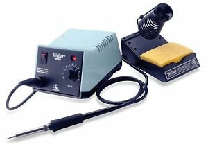 Analog Soldering Station With Soldering Slim Pencil With Stand Power Sponge Kit