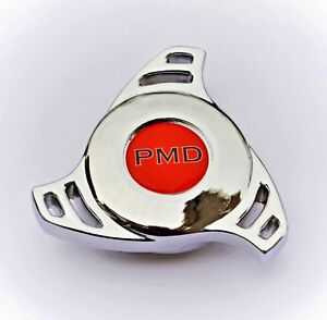 Chrome Air Cleaner Wing Nut Spinner Edelbrock Holley Quadrajet Pontiac Pmd Red