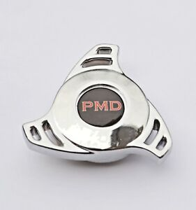 Chrome Air Cleaner Wing Nut Spinner Edelbrock Holley Quadrajet Pontiac Pmd Black