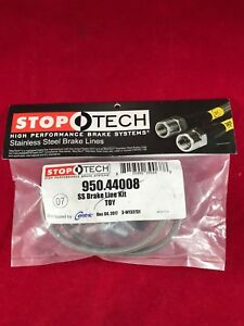 Stoptech Stainless Steel Front Brake Line 92 00 Lexus Sc300 Sc400 950 44008