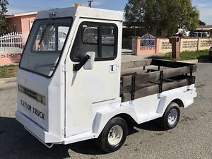 Taylor Truck Industrial Flatbed Electric Utility Cart Taylor Dunn Bigfoot