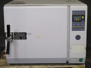 Tuttnauer 3850ea Steam Chamber Dental Sterilizer Autoclave 50 Cycle Count