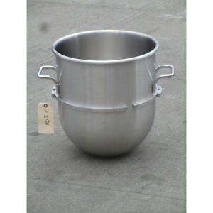 Hobart 00 315245 40 Qt Stainless Steel Bowl For D340 Mixer Used