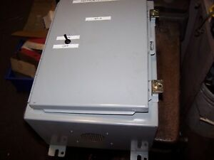 Wiegmann 16 X 12 X 8 Electrical Enclosure Nema 12 13 N12161208