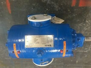 Ro flo 4cc Bare Shaft Rotary Vane Gas Compressor Suitable For 3 20 Hp Drive