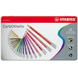 Stabilo Carbothello Colouring Pencils Tins Of 12 24 36 48 60 Available