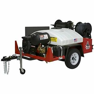 Spartan Tool 738 Hydro Jet Jetter Sewer Drain Cleaning Machine With High Water